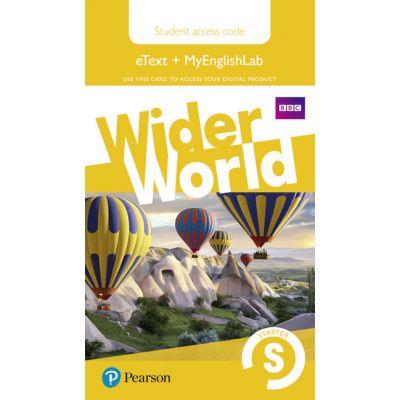 Wider World Level Starter MyEnglishLab & Students' eText Access Card
