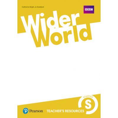 Wider World Level Starter Teacher's Resource Book - Sarah Thorpe