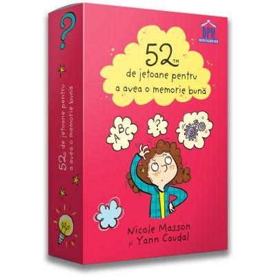 52 de jetoane pentru a avea o memorie buna - Nicole Masson, Yann Caudal, Joelle Dreidemy