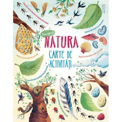 Descopera natura. Carte de activitati - Usborne Books