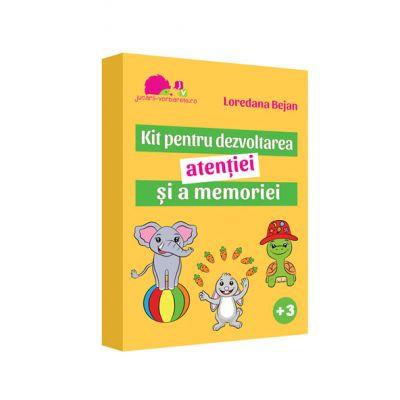 Kit pentru dezvoltarea atentiei si a memoriei - Loredana Bejan