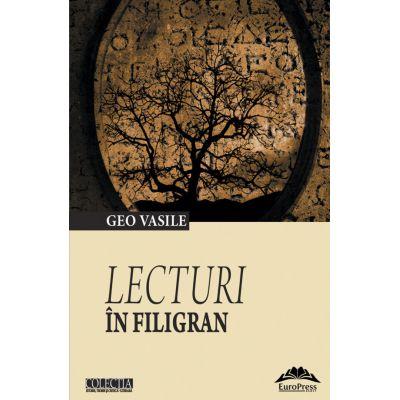 Lecturi in filigran - Geo Vasile