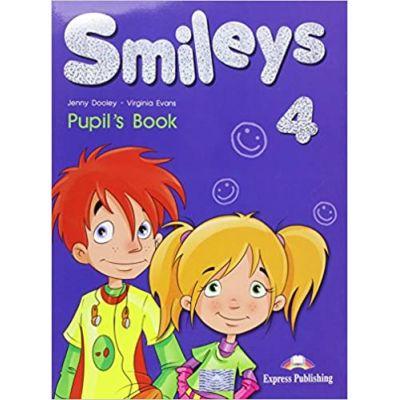 Smileys 4, Pupils Book. Manual curs limba engleza - Virginia Evans