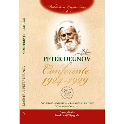 Conferinte 1924-1929, volumul 6 - Peter Deunov