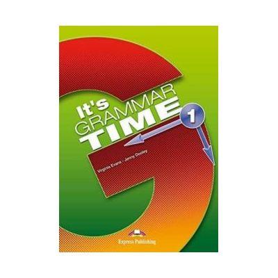 Curs de gramatica engleza It's Grammar Time. Manualul elevului cu Digibook App. - Jenny Dooley, Virginia Evans