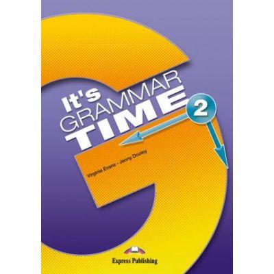 Curs de gramatica limba engleza It's Grammar Time 2. Manualul elevului cu Digibook App. - Jenny Dooley, Virginia Evans