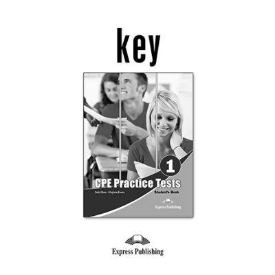 Curs engleza CPE practice tests 1 key - Bob Obee, Virginia Evans