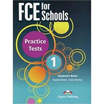 Curs engleza FCE for Schools 1 Practice Tests Student's Book with DigiBook app - Virginia Evans, Jenny Dooley
