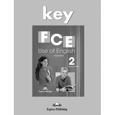 Curs FCE Use Of English 2 Cheie - Virginia Evans
