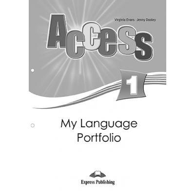Curs limba engleza Access 1 My Language Portfolio - Virginia Evans, Jenny Dooley