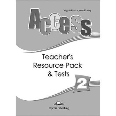 Curs limba engleza Access 2 Material aditional pentru profesor si teste - Virginia Evans, Jenny Dooley