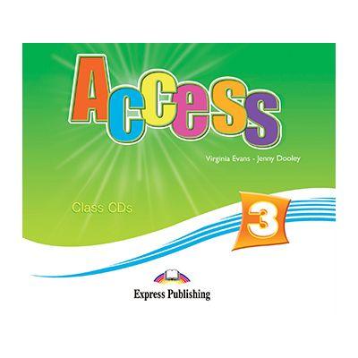 Curs limba engleza Access 3 Audio CD. Set 4 CD - Virginia Evans, Jenny Dooley