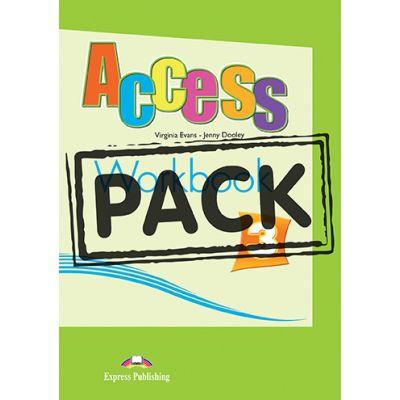 Curs limba engleza Access 3 Caietul elevului cu Digibook App - Virginia Evans, Jenny Dooley