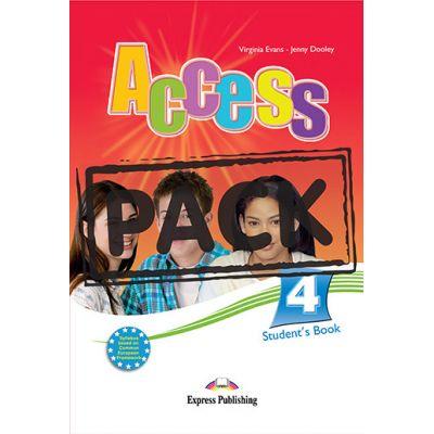 Curs limba engleza Access 4 Pachetul elevului. Manual + IeBook - Virginia Evans, Jenny Dooley