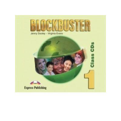 Curs limba engleza Blockbuster 1 Audio CD. Set 4 CD-uri - Jenny Dooley, Virginia Evans