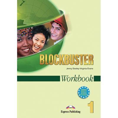 Curs limba engleza Blockbuster 1 Caietul elevului - Jenny Dooley, Virginia Evans