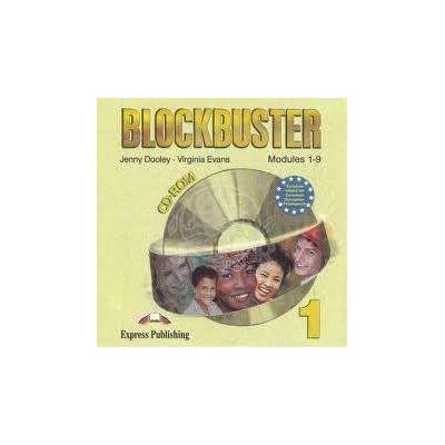 Curs limba engleza Blockbuster 1 CD-ROM - Jenny Dooley, Virginia Evans