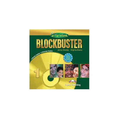 Curs limba engleza Blockbuster 1 DVD-ROM - Jenny Dooley, Virginia Evans