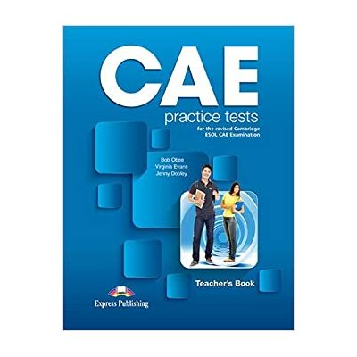 Curs limba engleza CAE Practice Tests Teacher's Book with Digibooks App - Bob Obee, Virginia Evans, Jenny Dooley