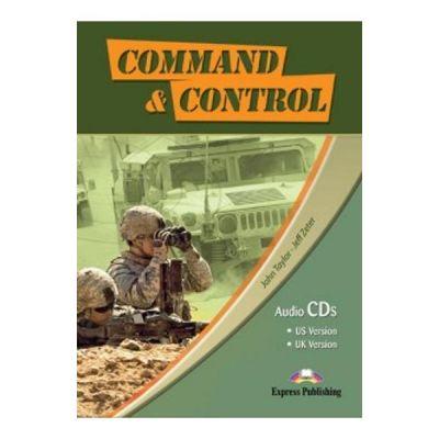 Curs limba engleza Career Paths Command & Control Audio set de 4 CD-uri - John Taylor, Jeff Zeter