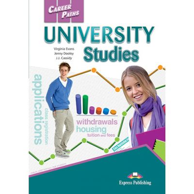 Curs limba engleza Career Paths University Studies Students Book with Digibooks Application - Virginia Evans, Jenny Dooley