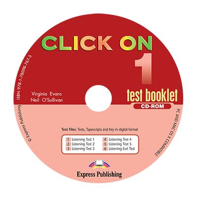 Curs limba engleza Click On 1 CD-ROM cu teste - Virginia Evans, Neil O'Sullivan