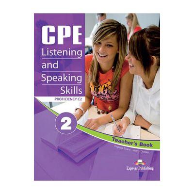 Curs limba engleza CPE Listening & Speaking Skills 2 Teacher's Book with Digibooks App - Virginia Evans