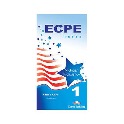 Curs Limba Engleza ECPE 1 Tests for the Michigan Proficiency audio CD manual, set de 5 CD-uri - Virginia Evans
