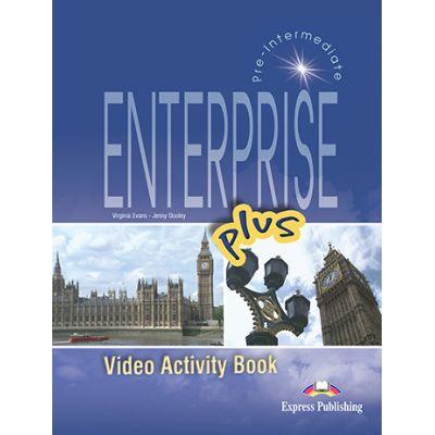 Curs limba engleza Enterprise plus DVD la caietul elevului - Virginia Evans, Jenny Dooley
