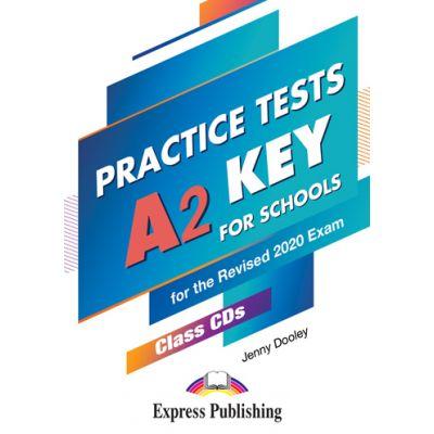 Curs limba engleza examen Cambridge A2 Key for Schools Practice Tests Audio CD la manual set 5 CD-uri - Jenny Dooley