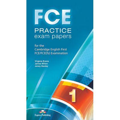 Curs limba engleza Examen Cambridge Fce Practice Exam Papers 1 Audio CD set 10 CD-uri - Virginia Evans