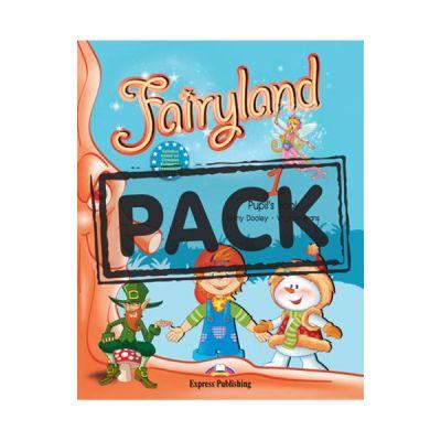 Curs limba engleza Fairyland 1 Pachetul elevului Manual cu DVD - Jenny Dooley