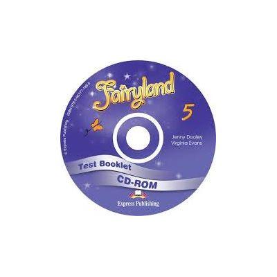 Curs limba engleza Fairyland 5 Test Booklet CD-ROM - Jenny Dooley, Virginia Evans