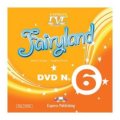 Curs limba engleza Fairyland 6. DVD - Jenny Dooley, Virginia Evans