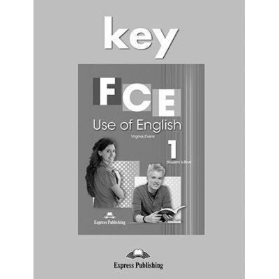Curs limba engleza FCE Use of English 1 Key - Virginia Evans