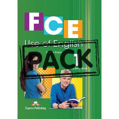 Curs limba engleza FCE Use of English 1 Teacher's Book with Digibooks App - Virginia Evans