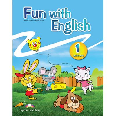Curs limba Engleza Fun with English 1 Manualul elevului - Jenny Dooley, Virginia Evans