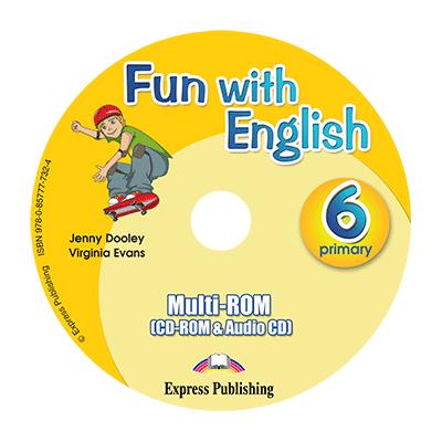 Curs limba Engleza Fun with English 6 MULTI-ROM - Jenny Dooley, Virginia Evans