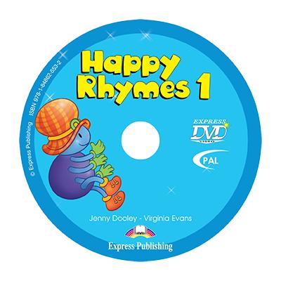 Curs limba engleza Happy Rhymes 1 DVD - Jenny Dooley, Virginia Evans