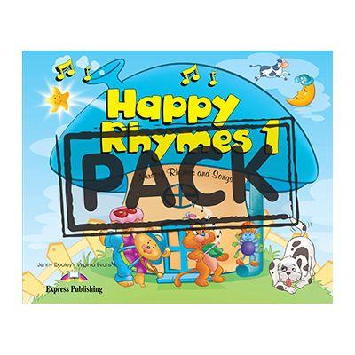 Curs limba engleza Happy Rhymes 1 Pachetul elevului - Jenny Dooley, Virginia Evans