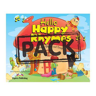 Curs limba engleza Hello Happy Rhymes Pachetul elevului - Jenny Dooley, Virginia Evans