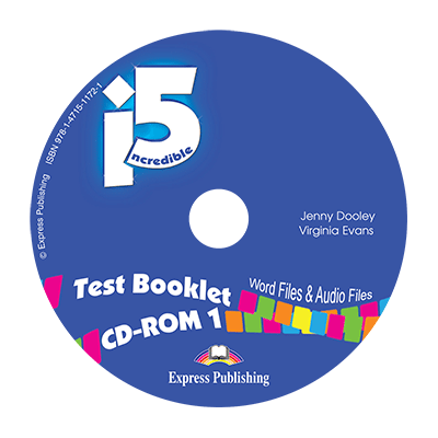 Curs Limba Engleza Incredible 5 1 test booklet CD-ROM - Jenny Dooley, Virginia Evans