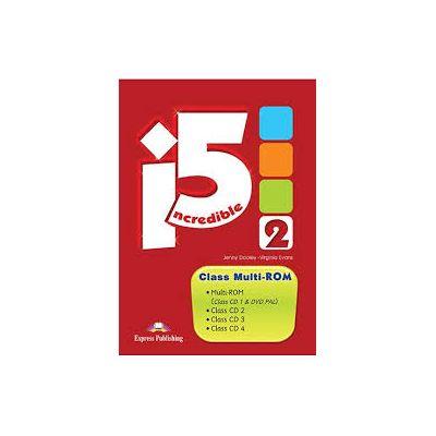 Curs limba engleza Incredible 5 2 Incredible 5 2 Class multi-ROM - Jenny Dooley, Virginia Evans
