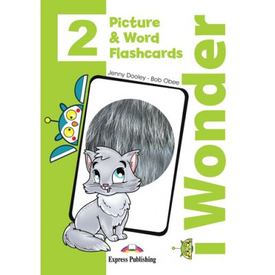 Curs limba engleza iWonder 2 Picture si Word Flashcards - Jenny Dooley, Bob Obee
