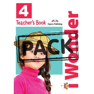 Curs limba engleza iWonder 4 Manualul Profesorului cu postere - Jenny Dooley, Bob Obee
