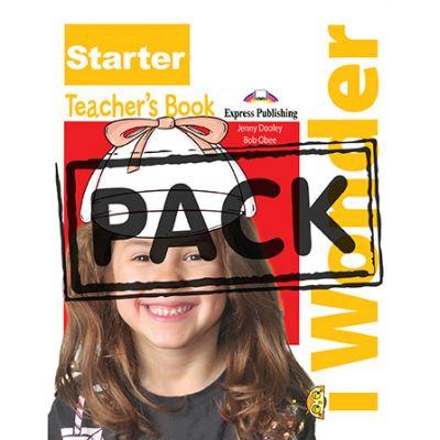 Curs limba engleza iWonder Starter Manualul Profesorului cu postere - Jenny Dooley, Bob Obee