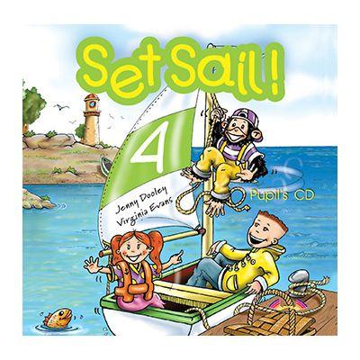 Curs limba engleza Set Sail 4 Audio CD - Jenny Dooley, Virginia Evans