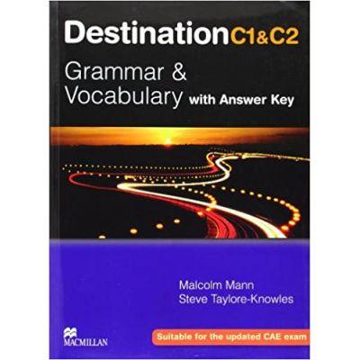 Destination C1&C2 Upper Intermediate Student Book +Key - Malcolm Mann, Steve Taylore-Knowles