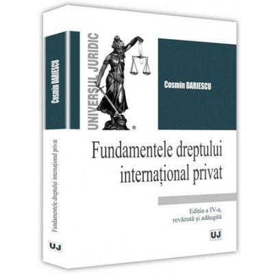 Fundamentele dreptului international privat - Cosmin Dariescu