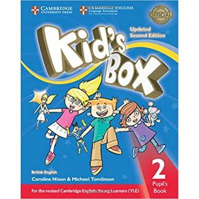 Kid's Box Level 2 Pupil's Book - Updated Second Edition (editie 2017) - Caroline Nixon
